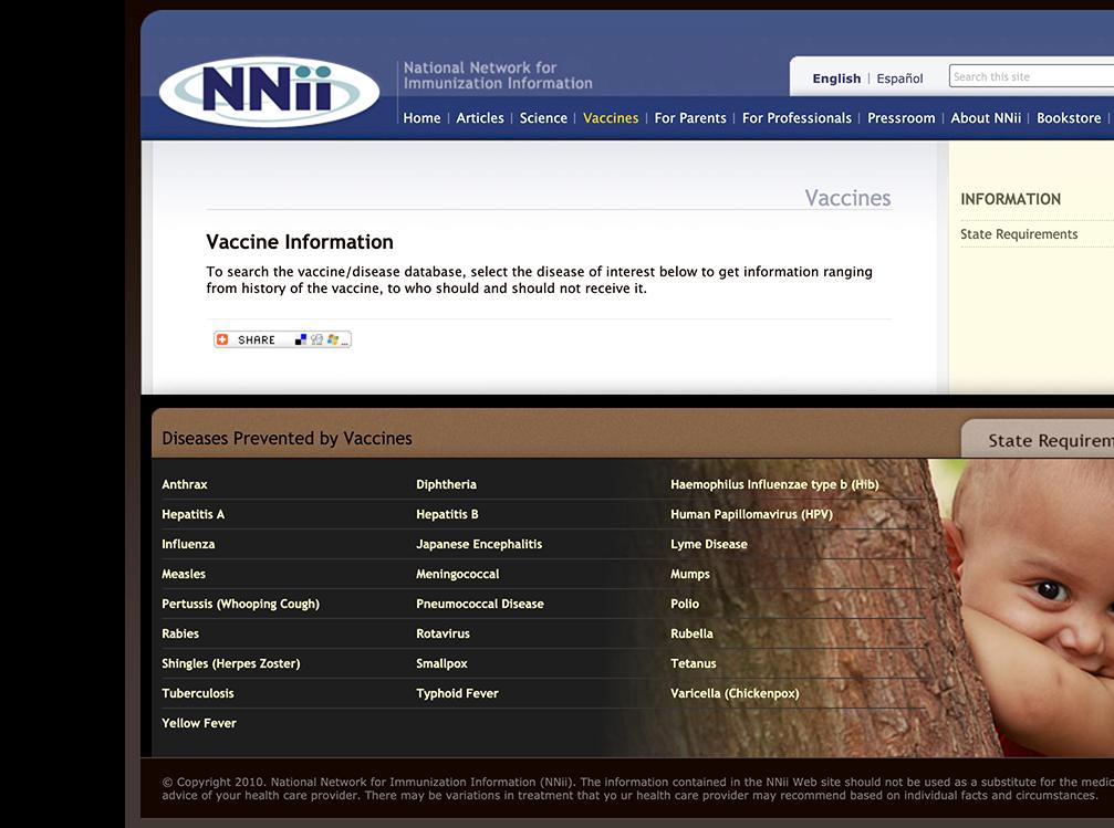 NNii Website